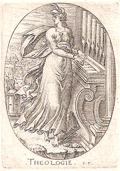 Etienne DELAUNE (Francia, circa 1518 – circa 1595) – THEOLOGIE