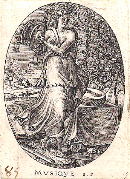 Etienne DELAUNE (Francia, circa 1518 – circa 1595) – MUSIQUE