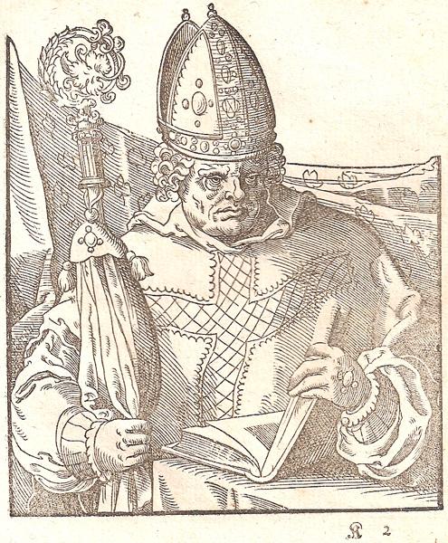 Jost AMMAN (Svizzera, 1539 – 1591) – UN VESCOVO