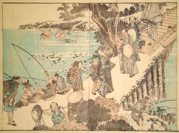 Katsushika HOKUSAI (Giappone, 1760 – 1849) – I PESCATORI
