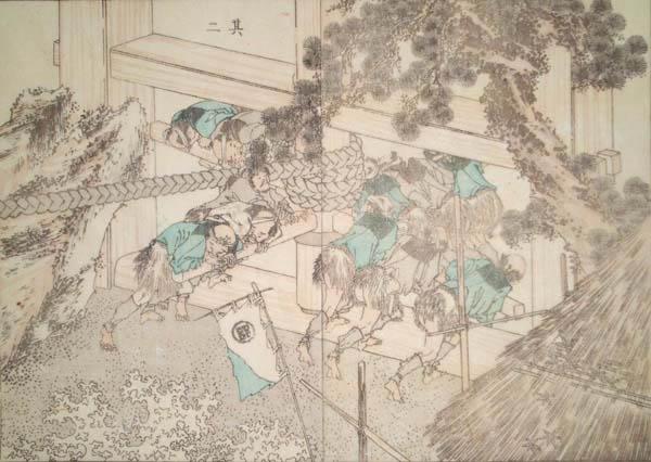 Katsushika HOKUSAI (Giappone, 1760 – 1849) – OH ISSA!