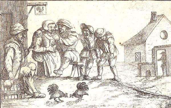 David DEUCHAR (Scozia, attivo 1771-1803) – FIGURE