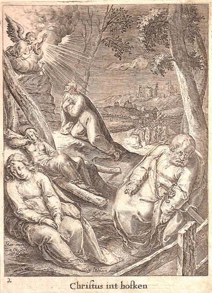 Zacharias DOLENDO (Olanda, 1561 – c.a 1604) – CHRISTUS INT HOFKEN