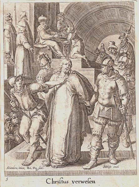 Zacharias DOLENDO (Olanda, 1561 – c.a 1604) – CHRISTUS VERWEFEN