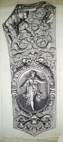 Pietro AQUILA (Marsala, 1650 – 1692) – AFFRESCO