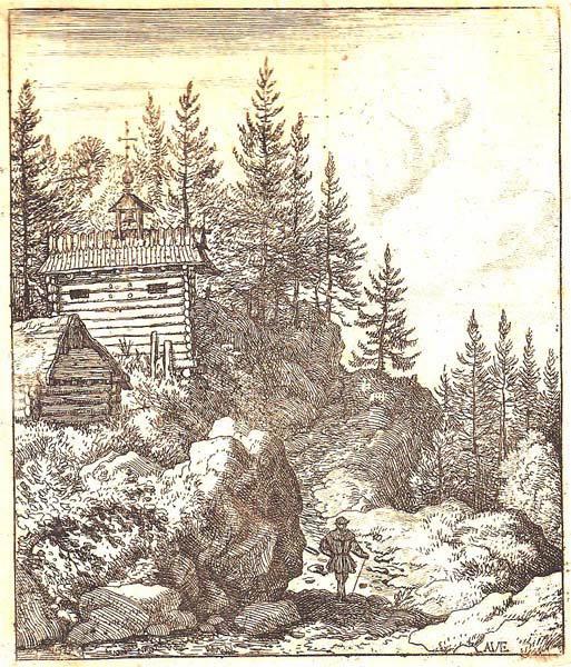 Allart Van EVERDINGEN (Olanda, 1621 – 1675) – LA CAPPELLA