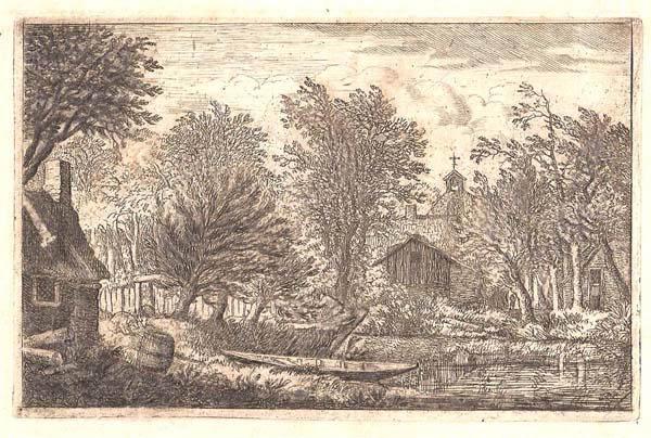 Allart Van EVERDINGEN (Olanda, 1621 – 1675) – LA CANOA