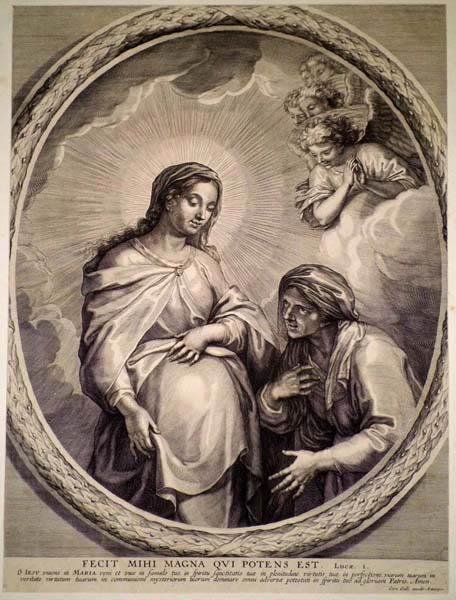 Cornelis GALLE (Fiandre, 1576 – 1650) – FECIT MIHI MAGNA QUI POTENS EST