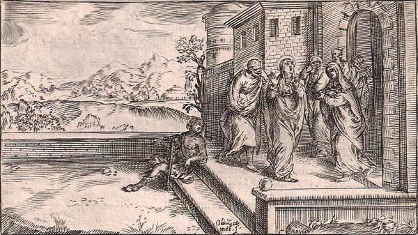 Oliviero GATTI (Piacenza, c.a 1580 – c.a 1648) – LA VISITAZIONE