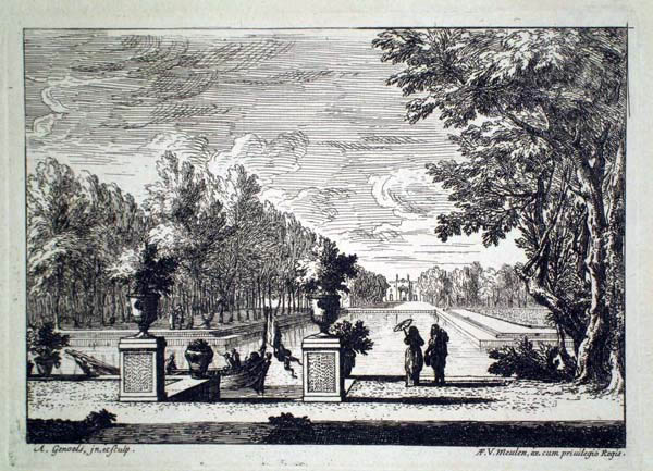 Abraham GENOELS (Fiandre, 1640 – 1723) – LA GONDOLA