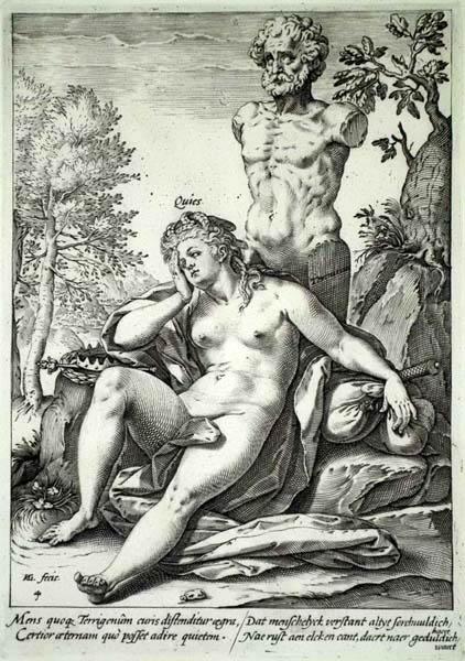 Hendrick GOLTZIUS (Olanda, 1558 – 1616) – RIPOSO
