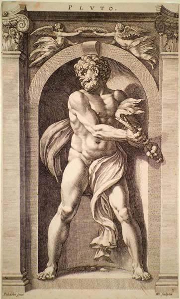 Hendrick GOLTZIUS (Olanda, 1558 – 1616) – PLUTO
