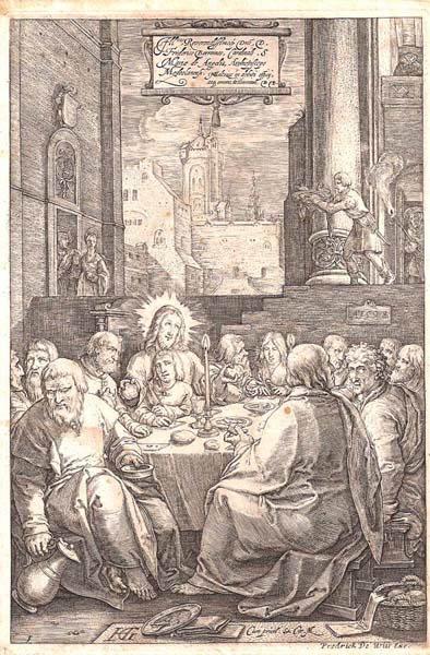 Hendrick GOLTZIUS (Olanda, 1558 – 1616) – LA DEPOSIZIONE (1596)