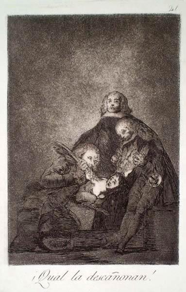 Francisco GOYA y Lucientes (Spagna, 1746 – 1828) – QUAL LA DESCANONAN!