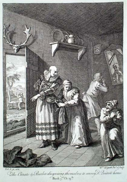 William HOGARTH (Gran Bretagna, 1697 – 1764) – IL TRAVESTIMENTO
