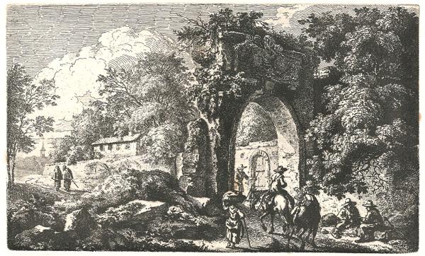Ferdinand KOBELL (Germania, 1740 – 1799) – PAESAGGIO