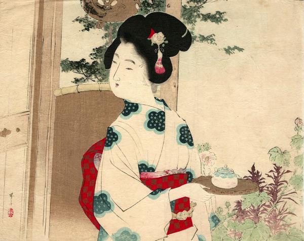 Mizumo TOSHIKATA (1866 – 1908) – FIORE IN PRESTITO (1900)