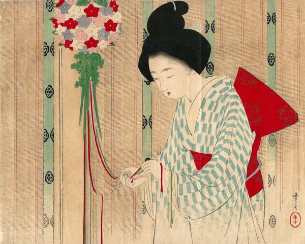 Mizumo TOSHIKATA (1866 – 1908) – DECORAZIONI PROFUMATE (1902)