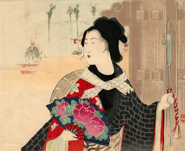 Takeuchi KEISHU (Giappone, 1861 – 1942) – MATSURI (1902)