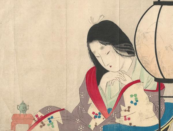 Tomioka EISEN (Giappone, 1864 – 1905) – IL CUORE DI UNA MOGLIE (1901)