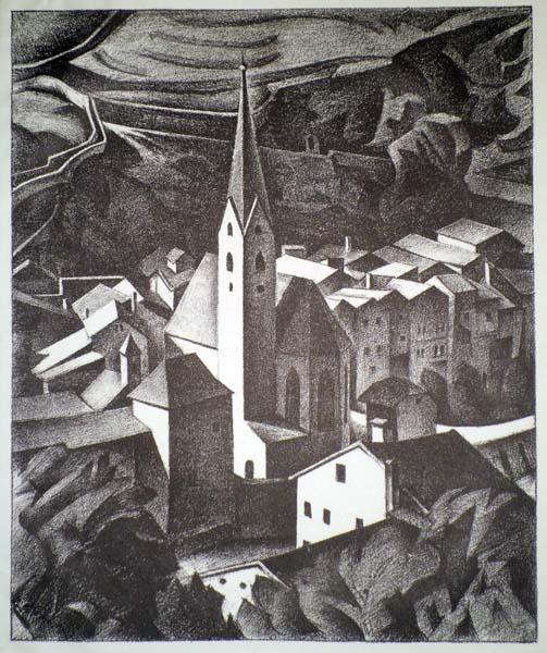 Alexander KANOLDT (Germania, 1881 – 1939) – KLAUSEN