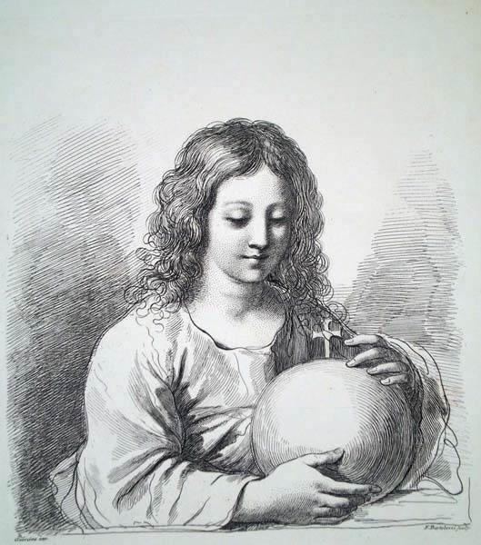 Francesco BARTOLOZZI (Firenze, 1727 – 1815) – IL REDENTORE (1808)