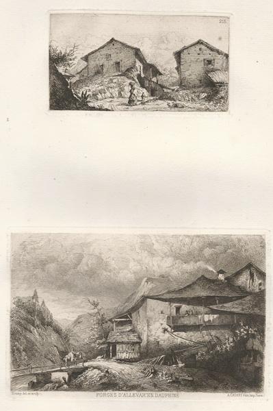 Joseph SOUMY (Francia, 1831 – 1863) – FORGES D'ALLEVAR EN DAUPHINE'