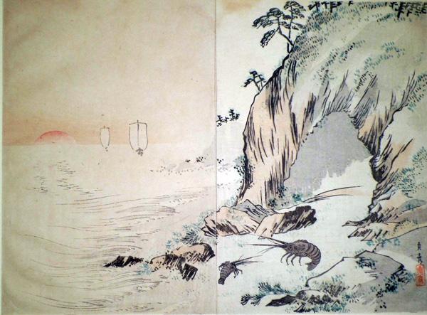 Eda SADASHIKO (attivo fine XIX secolo) – LA GAMBERESSA E SUA FIGLIA
