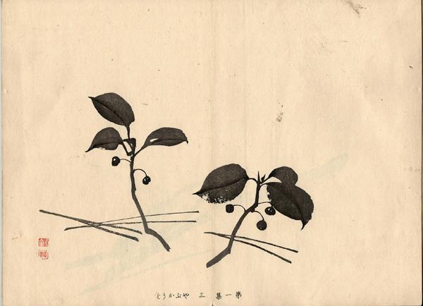 Kawabata GYOKUSHO (Giappone, 1842 – 1913) – BACCHE