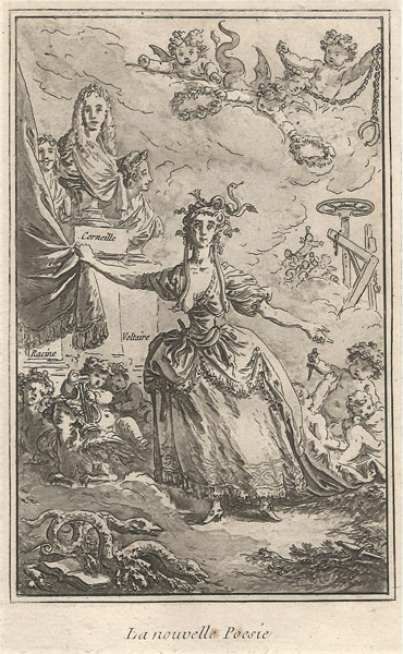 Jean-Baptiste LE PRINCE (Francia, 1734 – 1781) – LA NOUVELLE POESIE