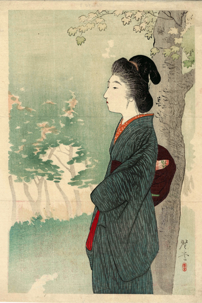 Terasaki KOGYO (Giappone, 1866 – 1919) – OMBRA D'AUTUNNO (1903)