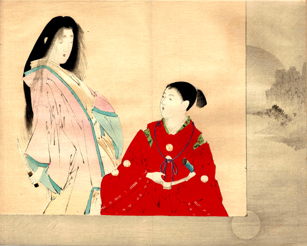 Watanabe SEITEI (1851-1918) – LADY MAKI (1897)