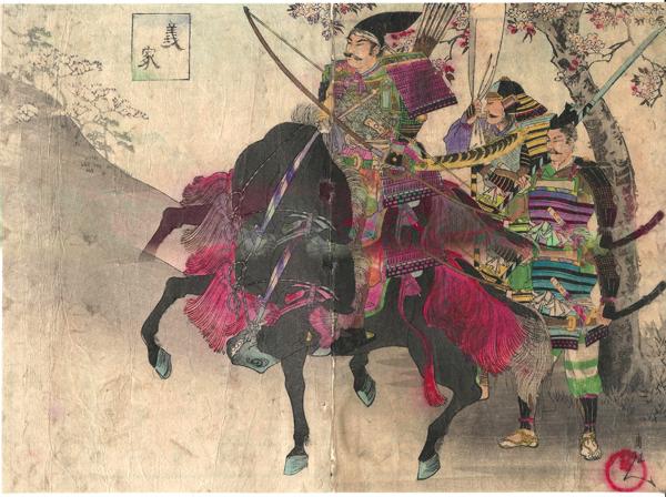 Hashimoto CHIKANOBU (Giappone, 1838 – 1912) – CHIYODA NO ONOMOTE