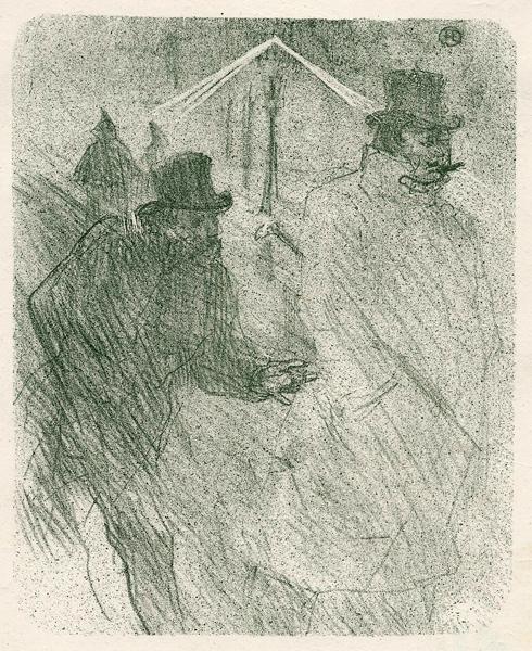 LE BARON MOISE MENDIANT (1864) – de TOULOUSE-LAUTREC Henri