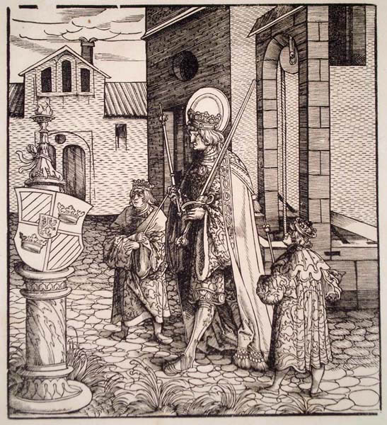 Leonhard BECK (Baviera, circa 1480 – 1542) – UN SANTO