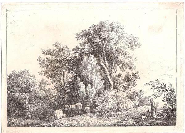 Martin Von MOLITOR (Austria, 1759 – 1812) – PAESAGGIO