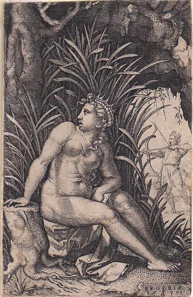 Georg PENCZ (Norimberga, 1500 – 1550) – CEFALO E PROCRI (1539)