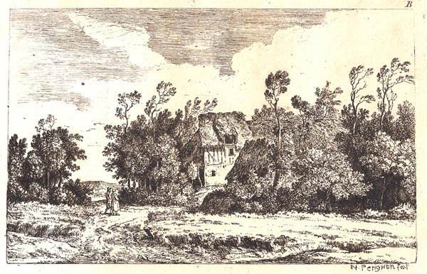 Alexis Nicholas I PERIGNON (Francia, 1729 – 1782) – PAESAGGIO