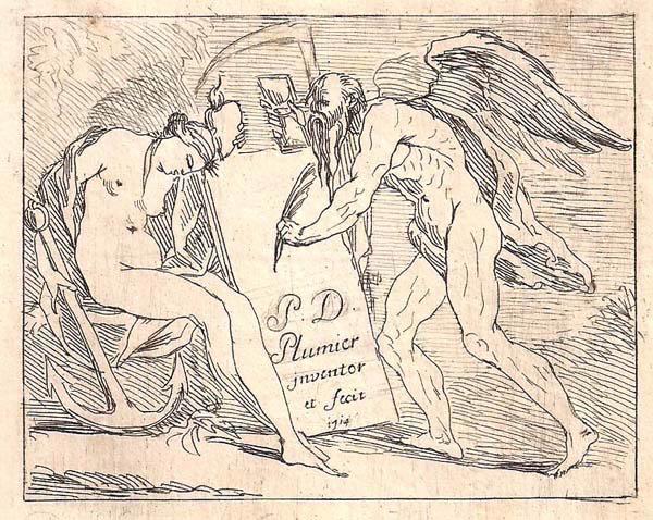 Pierre Denis PLUMIER (Olanda, 1688 – 1721) – IL TEMPO (1714)