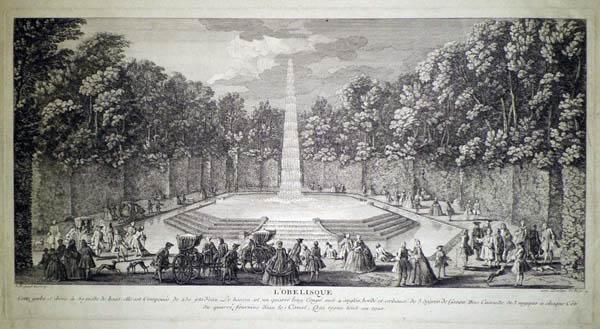Jacques RIGAUD (Francia, 1681 – 1754) – L'OBELISQUE