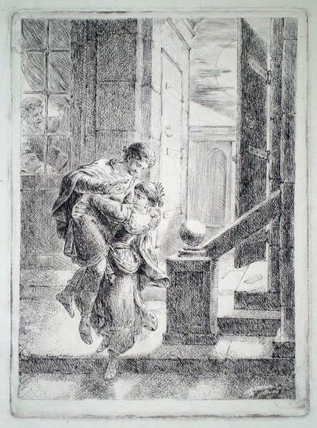 Chretien Bernard RODE (Germania, 1725 – 1797) – SCENA NON IDENTIFICATA