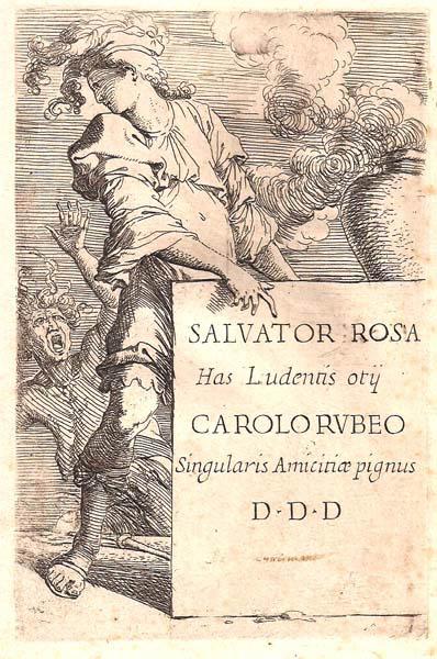 Salvator ROSA (Arenella, 1615 – 1673) – FRONTESPIZIO