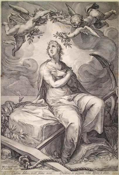 Ian SAENREDAM (Olanda, 1565 – 1607) – SPERANZA