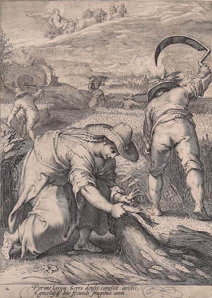 Ian SAENREDAM (Olanda, 1565 – 1607) – ESTATE
