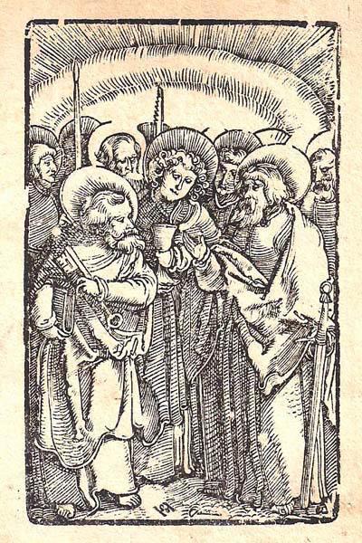 Hans Leonhard SCHAUFELEIN (Norimberga, circa 1490 – circa 1540) – I DODICI APOSTOLI