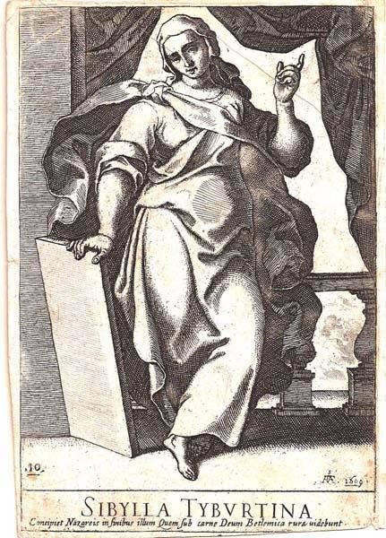 Raffaello SCHIAMINOSSI (Borgo San Sepolcro, c.a 1570 – 1622) – SIBYLLA TIBURTINA