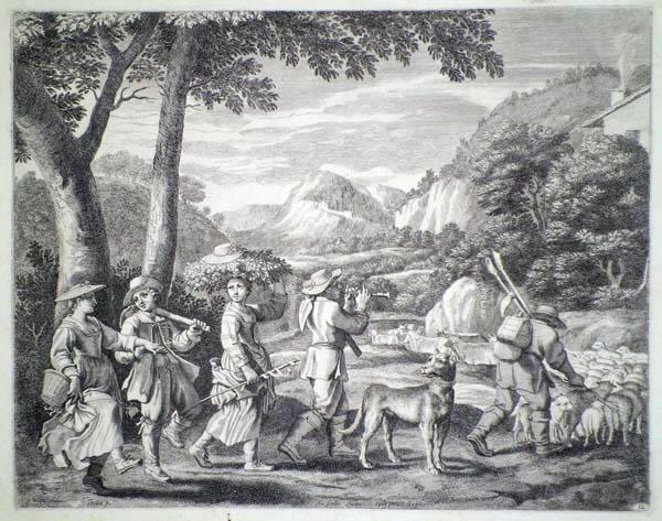 Claudine Bouzonnet STELLA (Francia, 1636 – 1697) – PASTORI