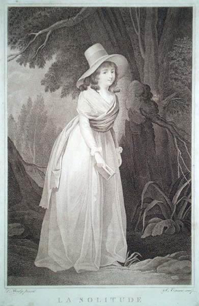 Salvatore TRESCA (Palermo, 1750 – 1815) – LA SOLITUDE da L. Boily