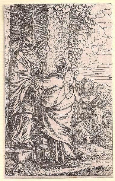 Jonas UMBACH (Baviera, circa 1642 – 1693) – LA VISITAZIONE