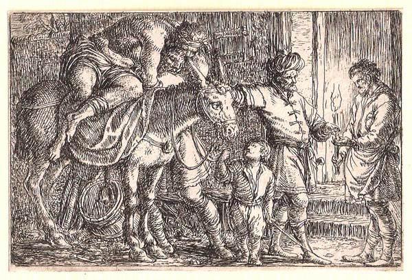 Jonas UMBACH (Baviera, circa 1642 – 1693) – IL BUON SAMARITANO